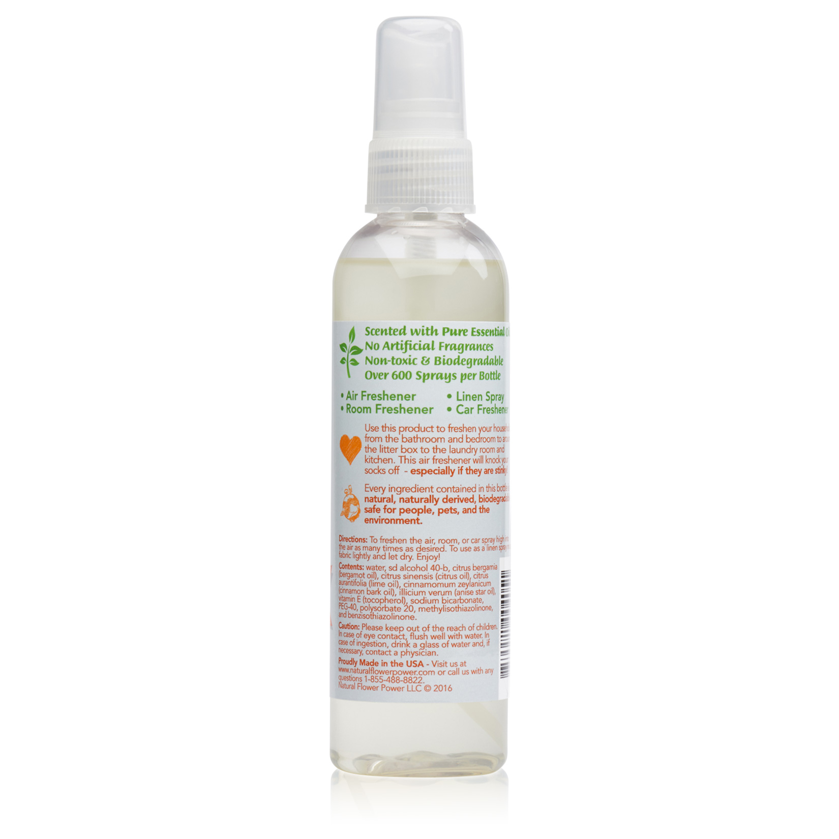 Air Freshener Citrus – Back