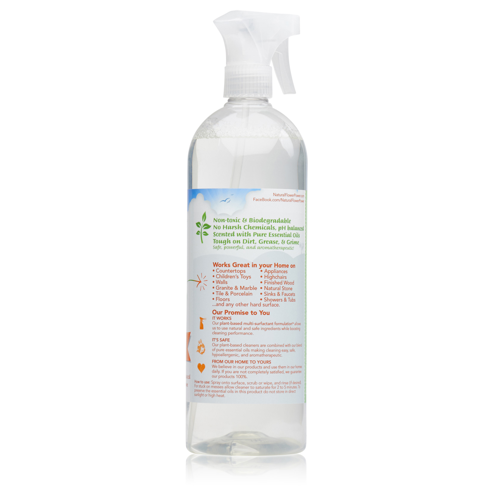 All-Purpose Cleaner Citrus & Spice – Back