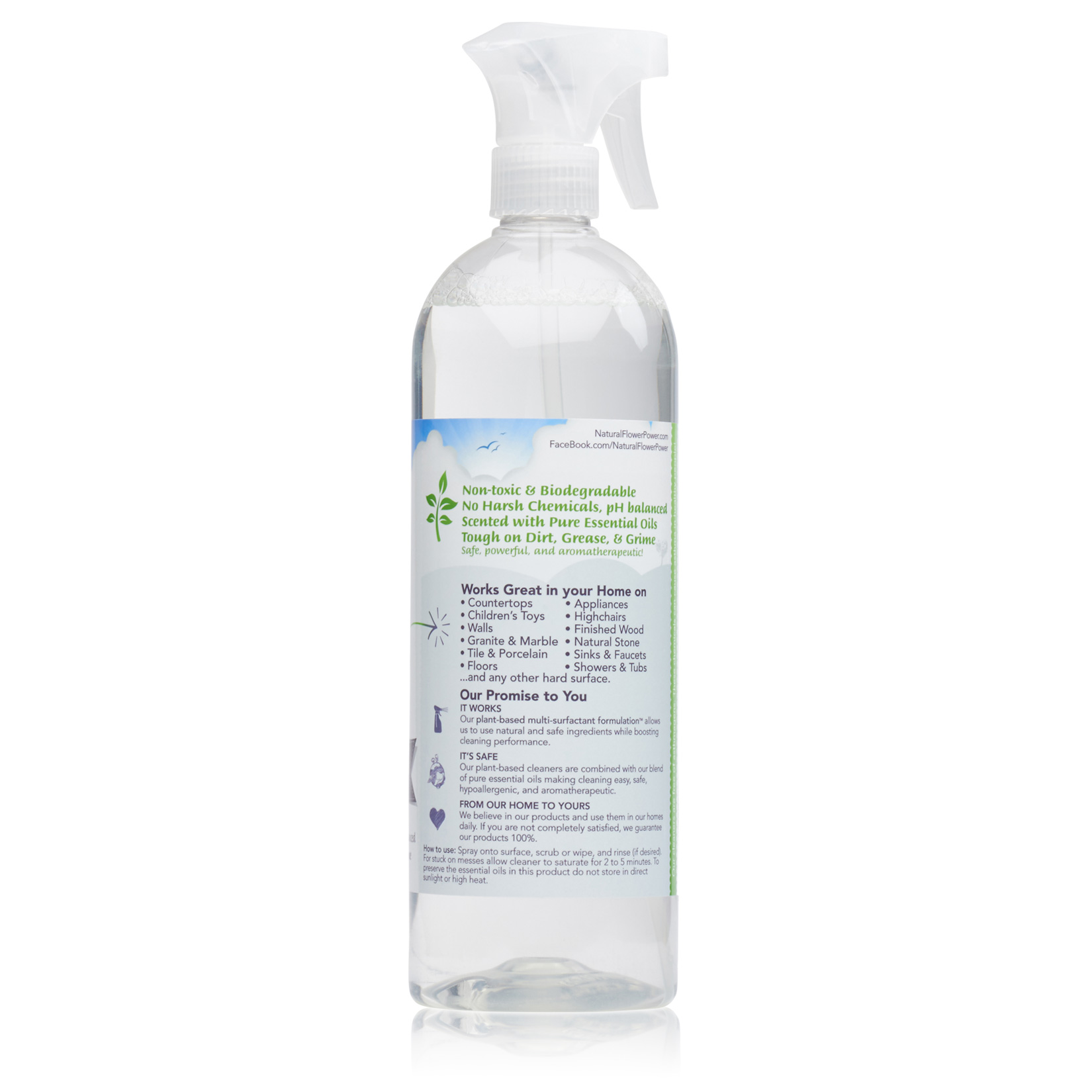 All-Purpose Cleaner Lavender – Back