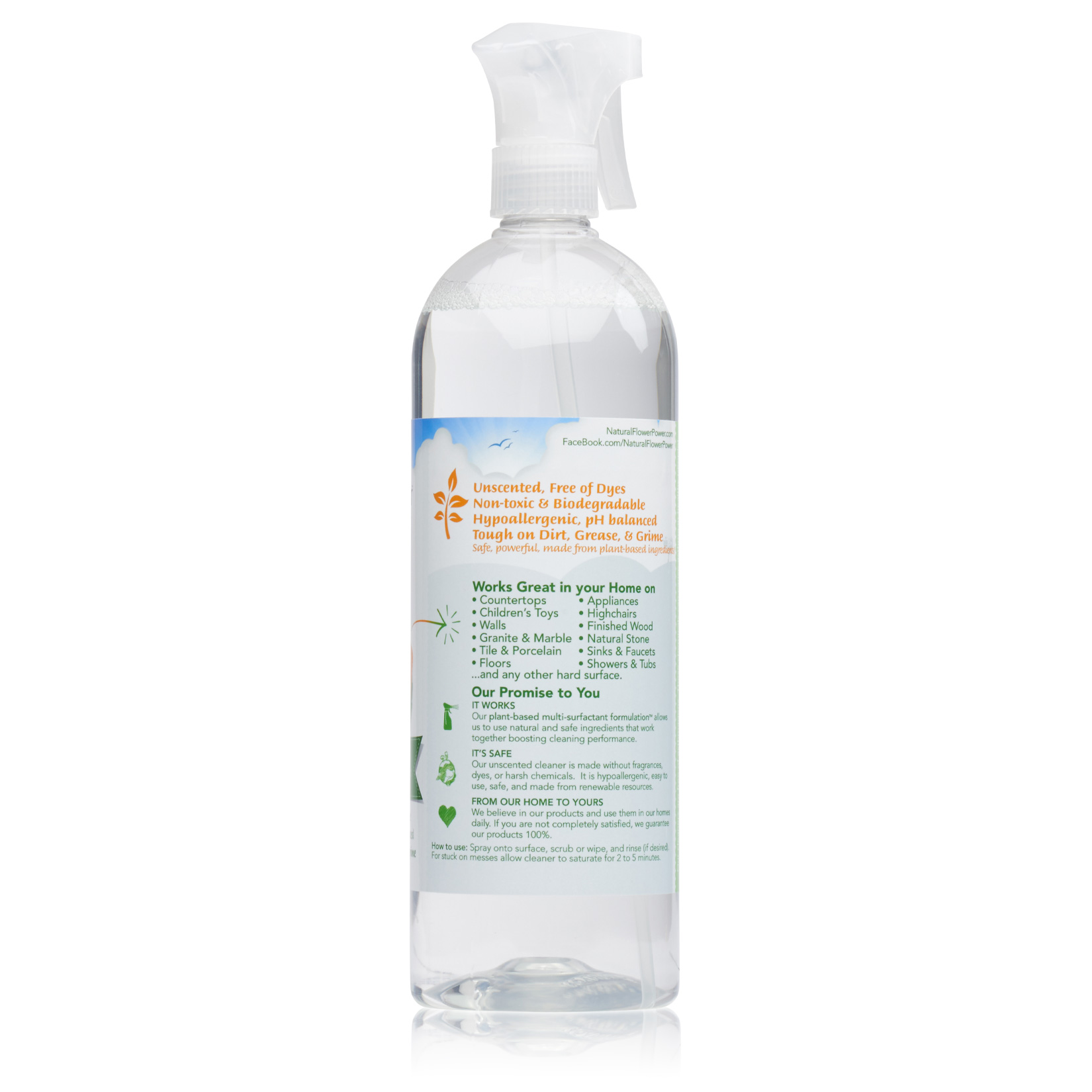 All-Purpose Cleaner Free & Clear – Back