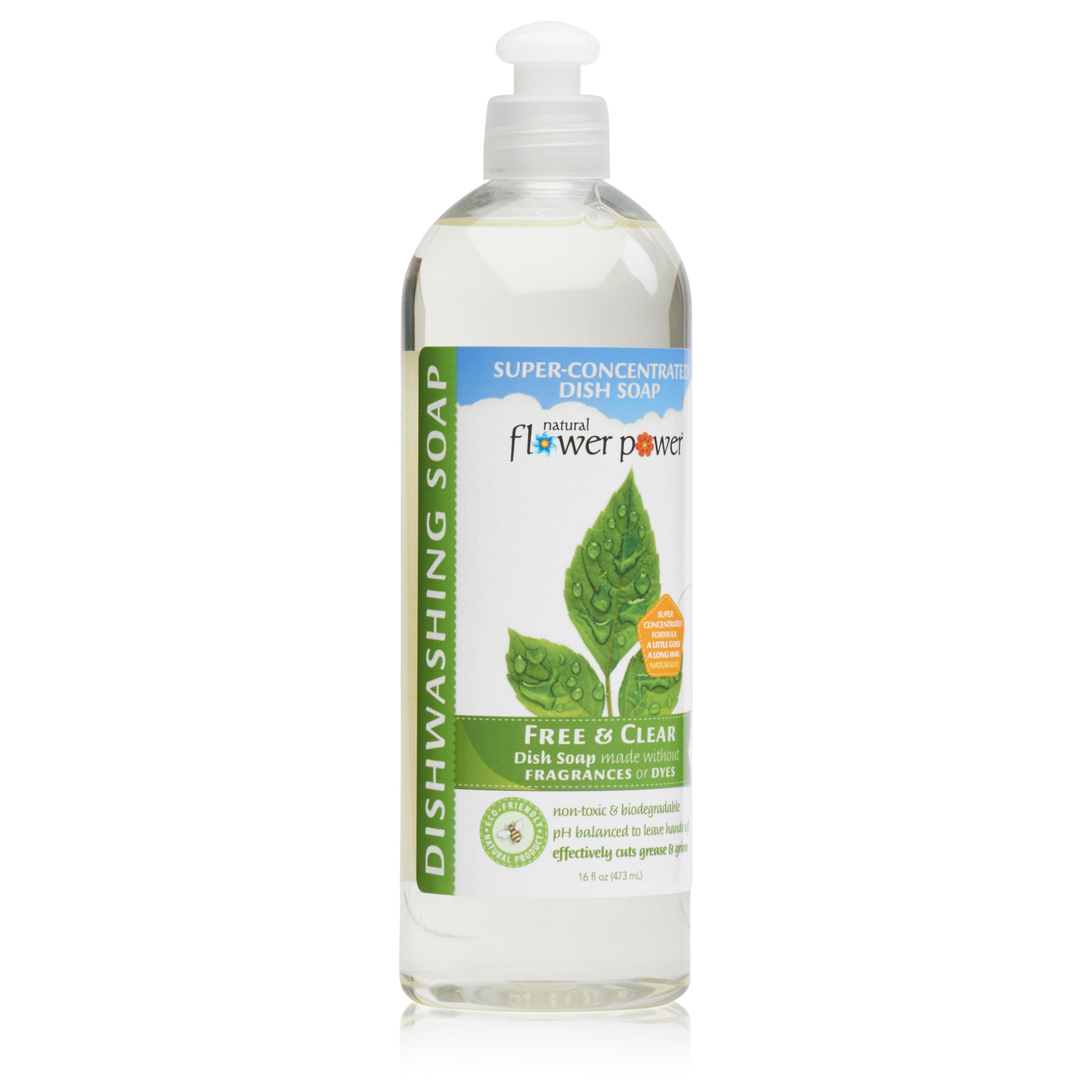 Natural Dish Soap Free & Clear – Profile