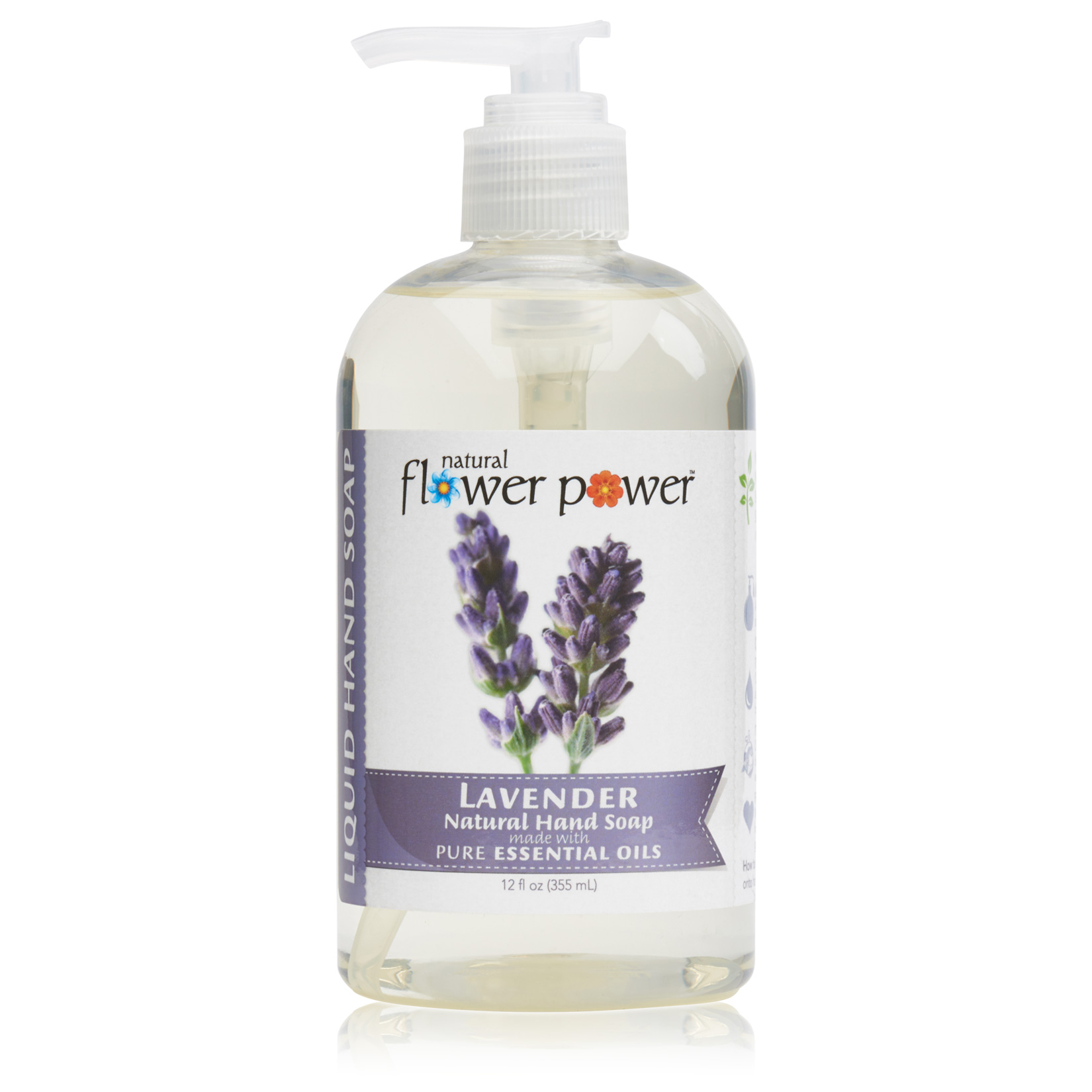 Natural Liquid Hand Soap Lavender – Front