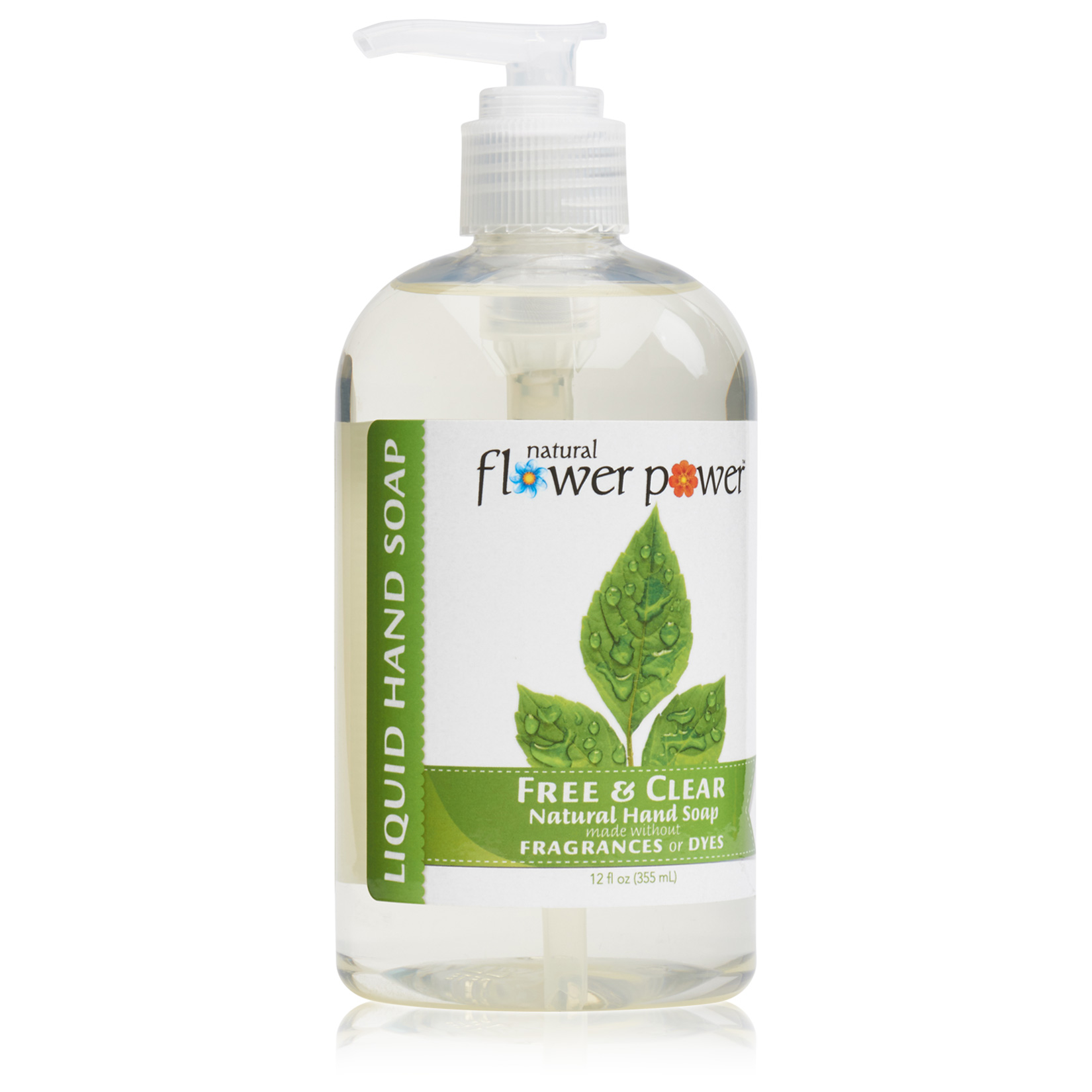 Natural Liquid Hand Soap Free & Clear – Profile